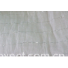 Cotton mussola with silver lurex