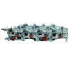 SBT GM250 six roller waste cotton cleaning machine