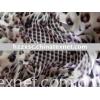 printed crinkle georgette silk fabric(100%silk)