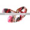 300pcs Fashion lady printed silk scarf