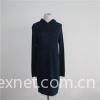 Girl's Hooded Long Dress Sweater