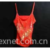 Pearl embroidery garment