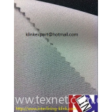 Polyester woven micro dot fusible interlining interfacing buckram