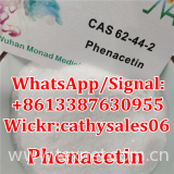 USA Warehouse Shiny phenacetin,phenacetin powder phenacetin price, 62-44-2, cas 62 44 2