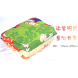 Cartoon printed cloth-sysle Natural Silk Quilt