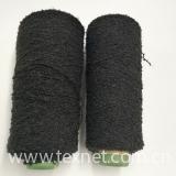 Black loop yarn pass needle detector fancy yarn fashion warmer touchscreen gloves in winter-XT11420