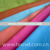 ramie cotton blended yarn dyed fabric