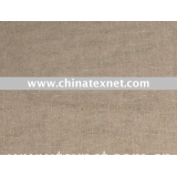 yarn dyed linen cotton blended  fabric