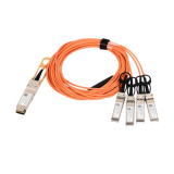 40G QSFP+ to 4X 10G SFP+ Active Optical Cables
