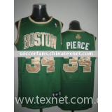Celtics Pierce basketball uniform