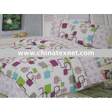 Fashion lover 100%polyester  printed 4pcs bedding set