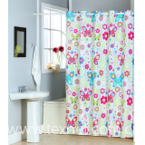 shower curtain polyester hookless polyester high quality