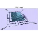 Flat Web Cargo Net,Flat Web lifting Net,flat strap cargo net