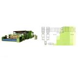 TL-BGB polyester wadding, imitated silk cotton production line