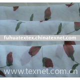 chiffon fabric/printed