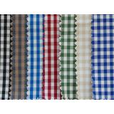 Cotton yarn-dyed plaid