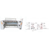RH-400A Thermal Fabric Slitting Machine