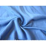 Silk/cotton interwoven fabric