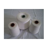30s Raw white polyester yarn for grey fabric