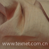 Flax stained cloth