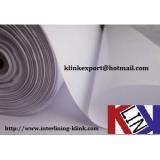 Shirt Cotton Woven Fusible Interlining interfacing buckram