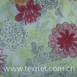 Flax printed cloth
