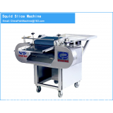 Adjustable Cutting Squid Meat Thickness Machine