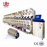 high speed air covering machine for making spandex covering thread