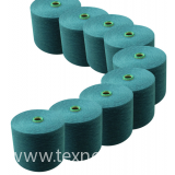 Angore blended yarn