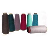 Milk fibre blended yarn