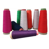 Polyester and cotton blended yarn