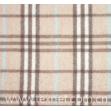 cashmere and wool blended fabric