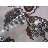 Real silk double-silk fabric
