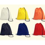 purple drawstring backpack