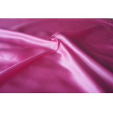 beautiful shinny robe pink satin for lady
