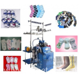 Chinese plain sock knitting machine