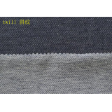 indigo knitted twill fabric