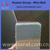 Corrugated paper belt for paper making