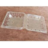 Disposable PET transparent food box