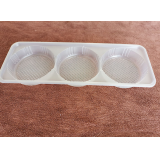 Custom disposable plastic tray
