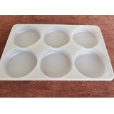Customized disposable seafood tray