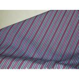 Cotton striped fabric
