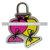 fashion Soft PVC Zipper puller