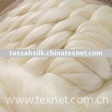 Tussah Silk Slivers