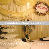chiffon fabric wedding decoration