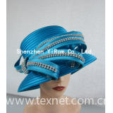 Satin ribbon kentucky derby royal ascot race church hat: YRSM14115