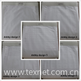 100% cotton dobby weave fabric for making hotel bed sheets