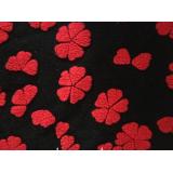 Knitting woolen fabric