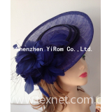Disc pillbox sinamay cocktail church kentucky derby royal ascot race fascinator: YRFC14024