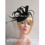 Sinamay disc pillbox cocktail church kentucky derby royal ascot race fascinator: YRFC14125